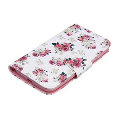 2015 new Fashion PU Leather Cases for Moto G3 Case for Motorola Moto G 3 3rd Gen 2015 Mobile Phone flower skin Wallet Cover Capa
