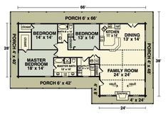 This the floor plan for the Homestead house