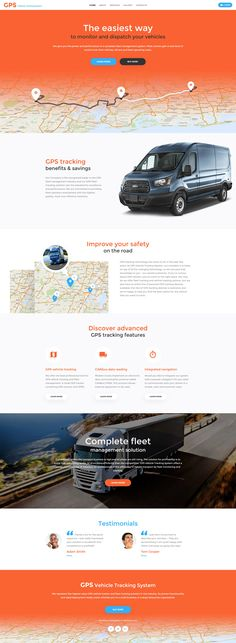 Logistics Website Template http://www.templatemonster.com/website-templates/gps-vehicle-tracking-system-website-template-58895.html #transportation