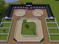 gorgeous layout but wouldn't need grass area inside menage