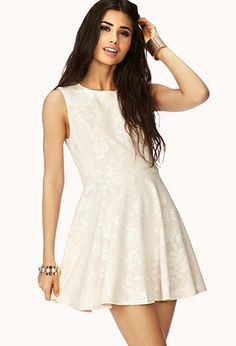 Sweetest Rose A-Line Dress | Forever 21 #foreverholiday