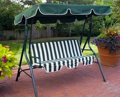 Two Seater Metal Swing Chair