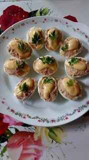 Érdekel a receptje? Kattints a képre! Romanian Food, Toddler Meals, Bruschetta, Fresh Rolls, Baked Potato, Sushi, Party, Health Fitness, Baking