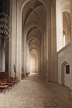 grundtvig's church, copenhagen by line x shape x colour