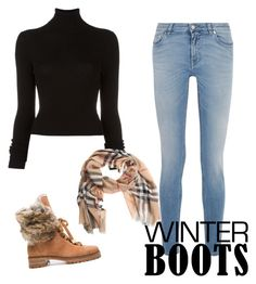 """Untitled #670"" by dw-fashion-unlimited ❤ liked on Polyvore featuring Givenchy, BLK DNM, Alexandre Birman and Burberry"