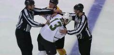Video: 3 bitky za prvé 4 sekundy zápasu! Boston Bruins, Dallas