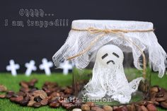 Im going to make this captured ghost for my son that way he cant say theres something scary in his room