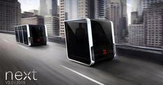 Next modélise le véhicule du futur