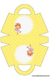 Kit para Festas - Moranguinho Baby
