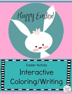 Easter Color and Write Activity Your kids will love this Easter Color and Write activity, and you'll be delighted to read the stories they produce. Preschool Center Signs, Preschool Centers, Preschool Classroom, Classroom Themes, Classroom Activities, Classroom Organization, Easter Coloring Sheets, Spring Theme, Easter Colors