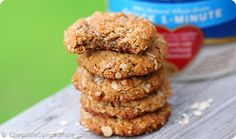 """Oat Cookies: http://chocolatecoveredkatie.com/2014/05/14/almond-butter-cookies/ Yum! Might try replacing applesauce with an egg to make it completely fructose free and of course """"my sugar of choice"""" would be dextrose or rice malt syrup."""