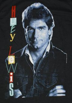 Vintage 1980s Huey Lewis and the News t-shirt