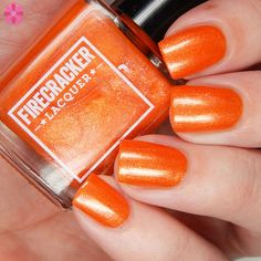 Firecracker Lacquer Tequila Sunrise Sunset- Available Aug 6-13