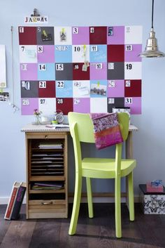 Das einzelne deko element betont noch einmal das aufwndige dessin do it yourself kalender gestalten wall calendarsdiy solutioingenieria Gallery