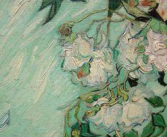 Van Gogh - Roses (detail)