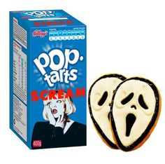 """Scream"" Pop-Tarts"