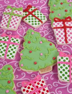 Chocolate Coated Christmas Cookies Recipe