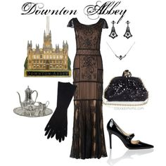 """Downton Abbey"" by coloradomom on Polyvore"