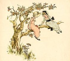 From the book: Marigold Garden  Pictures and Rhymes by Kate Greenaway