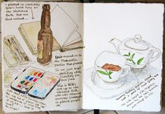 travel journal. This is really nice; just the thought of an art trip with kindred souls is mouth watering.