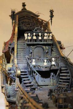 Queen Anne's Revenge - Queen Anne's Revenge - Model Sailing Ships, Old Sailing Ships, Model Ships, Pirate Boats, Pirate Art, Pirate Ships, Model Ship Building, Boat Building, Bateau Rc
