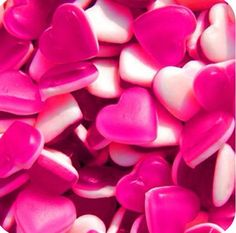 red, sweet, foods, valentine day, candies, pink, gummi heart, jelly, inspiring pictures