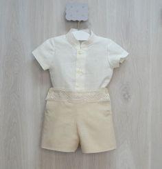 c87363562 Conjunto de niño bautizo o vestir.· Nueva colección· Bonito y sencillo  conjunto de