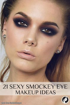 Try a smokey eye look if you are searching for something classic that suits all…