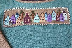 Купить Бохо туника Город у моря - тёмно-бирюзовый, рисунок, туника вязаная, большой размер Yarn Crafts, Diy And Crafts, Main Colors, Wool Yarn, Upcycle, Kids Rugs, Pure Products, Embroidery, Boho