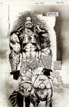 Lobo by Simon Bisley and Todd Klein
