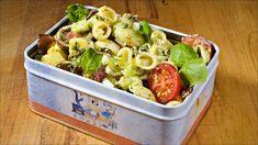 no - Finn noe godt å spise Bacon Egg, Pesto Pasta, Pasta Dishes, Potato Salad, Dip, Lunch, Baking, Vegetables, Healthy