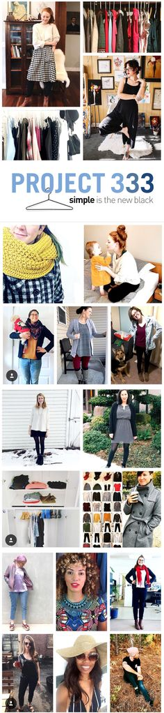 Project 333 | How to Build a Capsule Wardrobe