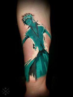 Ichigo tattoo by will dixon no regrets #anime #manga #bleach #tattoo