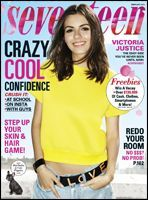 Victoria Justice brightens up our day on the February 2015 cover of Seventeen magazine, on newsstands January Victoria Justice, Seventeen Magazine, Justice Magazine, Free Magazine Subscriptions, Winged Eyeliner Tutorial, My Magazine, Magazine Covers, Magazine Photos, Free Magazines