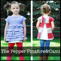The Pepper Pinafore&Cami | ShwinDesigns