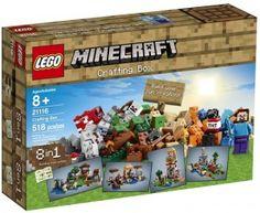 On Satya's Wish List: LEGO Minecraft 21116 Crafting Box