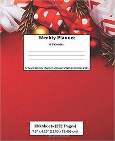 Amazon.com: Weekly Planner & Calendar: 5 Years Planner: January 2020-December-2024 (9781696570046): Ricky Lee: Books