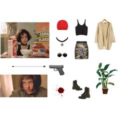 """""""Mathilda: The Professional"""" by aliceingothland on Polyvore"""