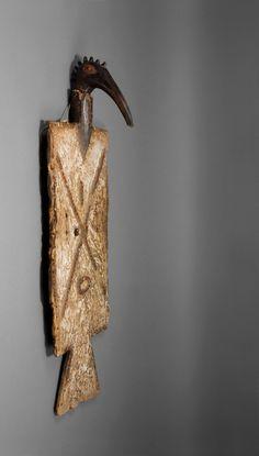 Tussian Loniake Mask, Burkina Faso Mono Ha, African Masks, African Art, Art Africain, Carving Tools, Global Art, West Africa, Ghosts, Folk Art