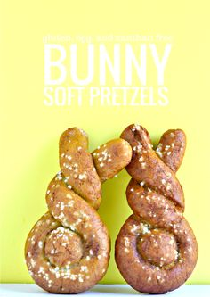 Gluten free Soft Pretzels (gum free)