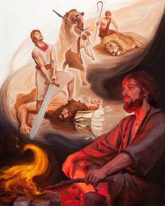 Com a ajuda de Deus, seja corajoso como Davi (Salmo 27)