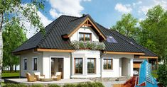Cottage House Plans, Cottage Homes, Design Case, Home Fashion, Cozy, House Design, How To Plan, House Styles, Small Houses