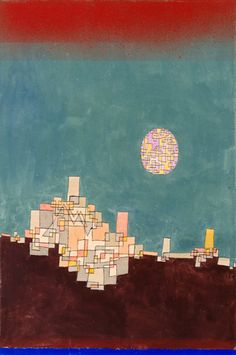 Titolo dell'immagine : Paul Klee - Place (X.8) chose
