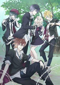Animes De Romance Del 2015 Top 10 Mejores Diabolik Lovers