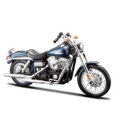 10e8f3a652 Miniatura Moto Harley-Davidson 2006 FXDBI Dyna Street Bob Maisto 1 18 -  Machine