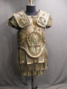 Roman Bronze Age Armor - painted leather.