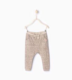 Pantalon texturé-Pantalons-Bébé fille (3 mois-4 ans)-ENFANTS | ZARA France
