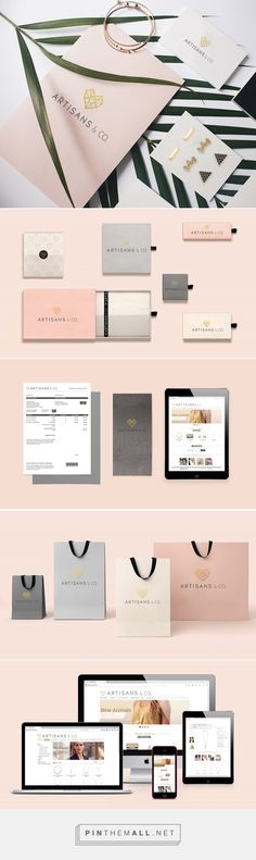 ARTISAN & CO. Jewelry Branding by Michelle Lopes | Fivestar Branding Agency – Design and Branding Agency & Curated Inspiration Gallery