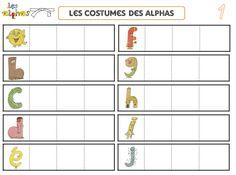 Atelier autonome: lettres et alphas - Maitresse, au tableau !