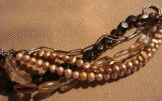 shades of bronze bracelet